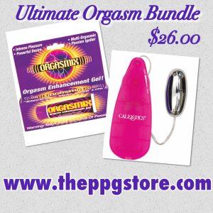 Enhance electronic orgasm